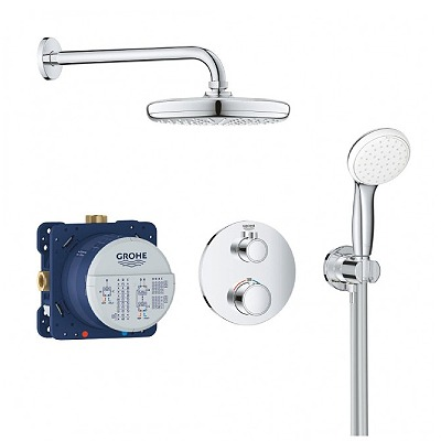 Grohe_Grohterm Perfect_shower_set
